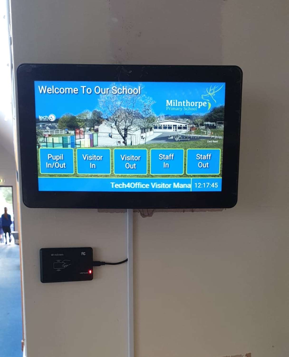 School Visitor Management Systems in Carlisle, Cumbria